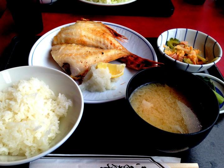 je vous avez dit que l'on mangeait comme des princes au Japon!