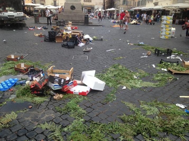 Comment passer un bel été à Rome? bémols saletés
