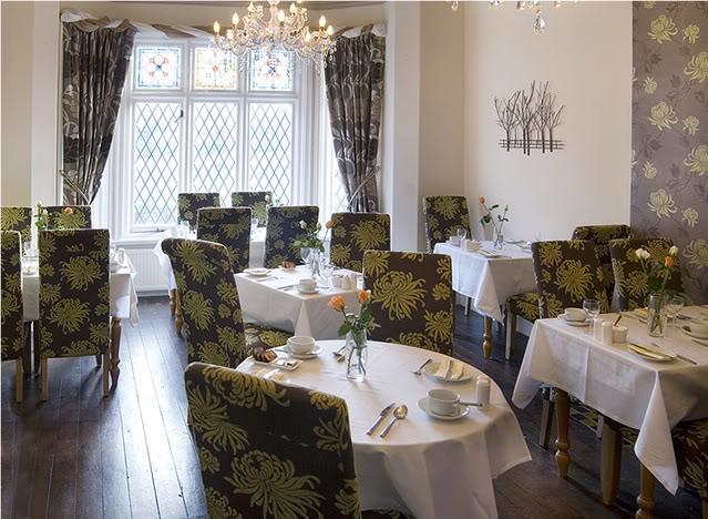 Photo du restaurant via le site de l'hôtel
