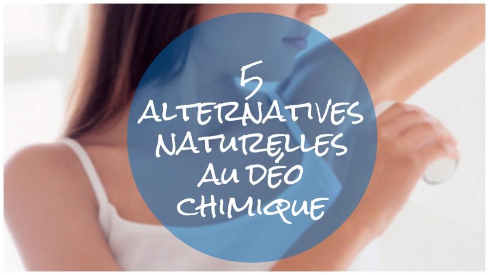 Troquer son déodorant chimique: alternatives naturelles au banc d'essai