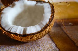 biocarbonate de soude - déodorant naturel - banc d'essai - coconut oil- - huile de coco