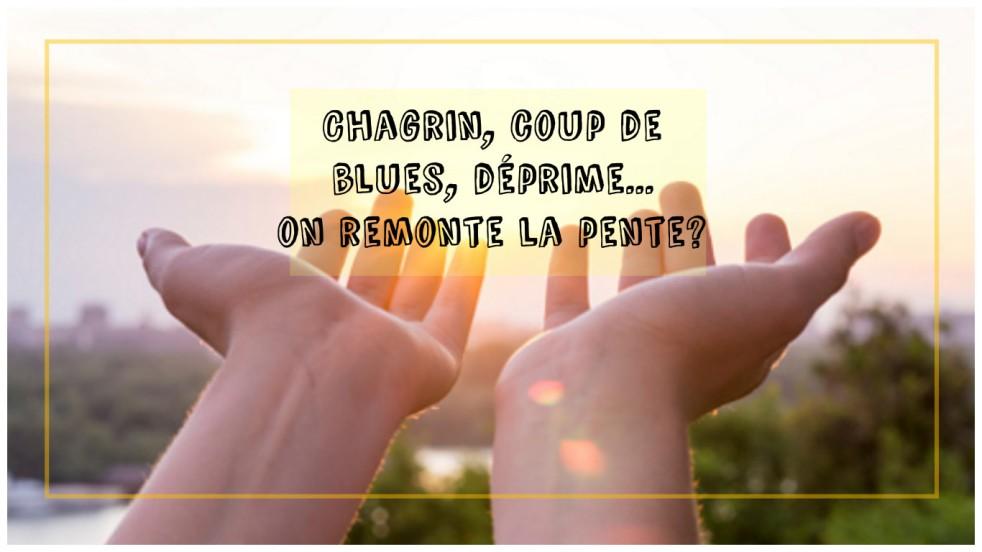Chagrin, coup de blues, déprime...on remonte la pente? remèdes