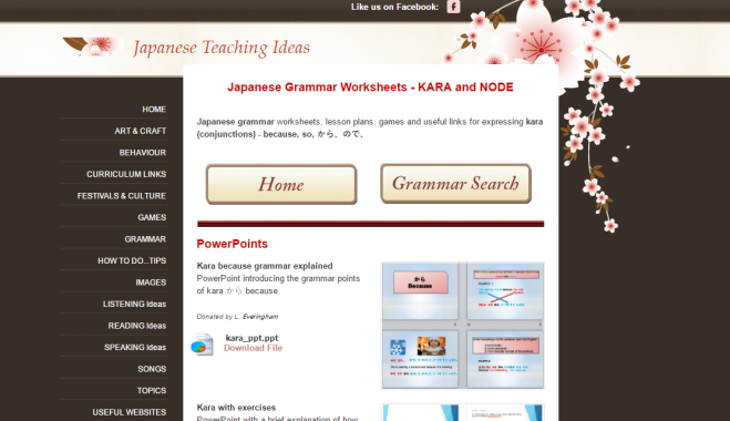 Japanese teaching ideas