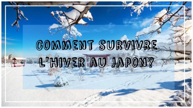 Comment survivre l'hiver au Japon?