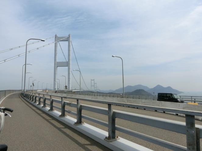 Shimani Kaido Shikoku Japon vélo randonnée ponts