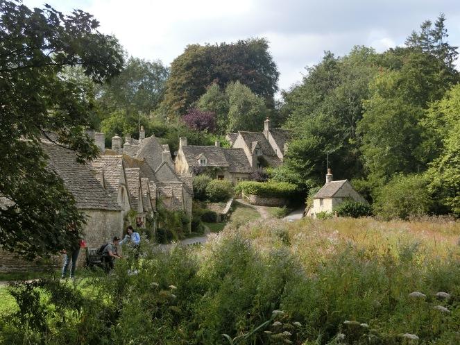 cotswold ; Bibury ; Angleterre ; village pittoresque